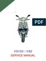 VS125 Service Manual