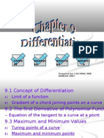 Chapter 9 Differentiation