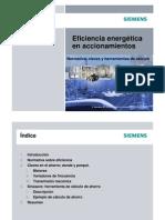 Eficiencia Energtica en Accionamientos SIEMENS