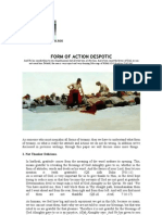 Form of Action Despotic