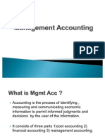 Management Accounting Introduction
