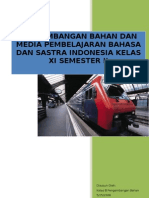 an Bahan Dan Media Pembelajaran Bahasa Dan Sastra Indonesia Kelas Xi Semester II