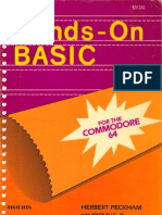 Hands-On BASIC for the Commodore 64