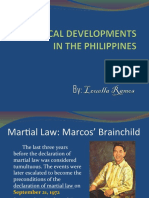 Political Development in the Philippines