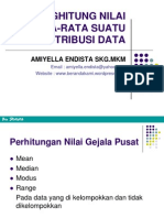 Statistik Data Tunggal