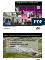 Biopharma Facility Design Execution & Design Aspects - Austin Lock