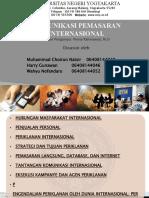 Komunikasi Pemasaran Internasional
