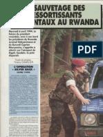 Rwanda 1994. Le sauvetage des ressortissants occidentaux au Rwanda- Raid no 97 - Juin 1994