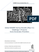 SESERV Survey Results May11