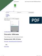 Descartes Albtraum   Thomas Metzinger und das Verschwinden des Subjekts   GRIN   Seminararbeit. Diplomarbeit, Referat, Hausarbeit, Bachelorarbeit, Masterarbeit veröffentlichen.