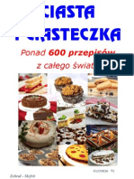 CIASTA I CIASTECZKA-600 przepisów-kuchnia TV