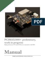 PCIMAX 3000+ Manual