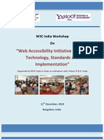 Web Accessibility Initiative in India