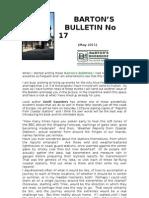 Bulletin No 17 May 2011
