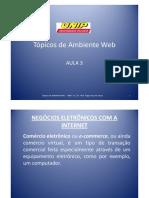 Aula 3 - TAW - Negócios Eletronicos na Internet