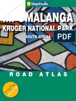 Mpumalanga & Kruger National Park Road Atlas. ISBN 978186809
