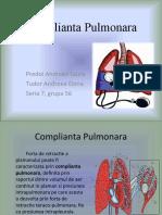 Complianta Pulmonara 3