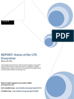 GSA LTE Ecosystem Report March 2011 160311