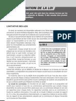 l Elaboration de La Loi