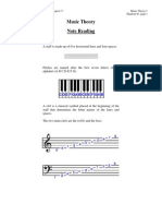 Music Theory - Notes Reading