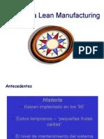 Sistema Lean Manufacturing