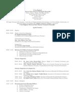 """12-05-11 Programa V Foro Regional """"Hacia un nuevo proyecto nacional de desarrollo"""""""