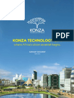 Konza Technology City where Africa's silicon savannah begins...
