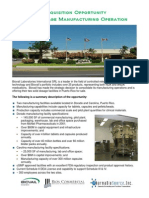 Pharmaceutical Manufacturing Facility Available - Puerto Rico - Biovail
