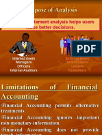 Limitations of Financial Accounting