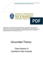 Ground Theory