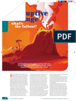 Disruptive Change - How does pharma survive and  thrive in the world of modern healthcare