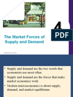 Demand and Supply Forces
