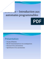 Cours #00 – Introduction aux automates programmables