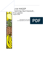 Juice HACCP First Edition