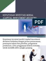 Keputusan Investasi Modal