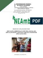 Projeto para captação de recursos Educação Ambiental
