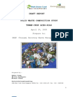 DRAFT REPORT WASTE COMPOSITION TRWMP-UNDP