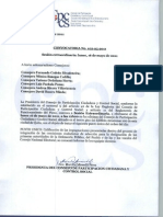Convocatoria No.102 05 2011