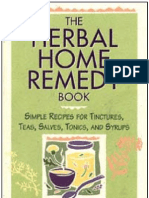 Herbal Home Remedy Book