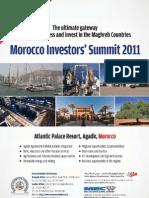Morocco Investors' Summit MIS Agadir Atlantic Palace Resort 4-5 July 2011 E