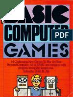 More BASIC Computer Games