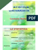 statistica univariata