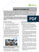 Drainage Technical Brief (Oxfam)