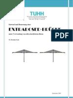 Entwruf und Bemessung einer Extradosed Brücke unter Verwendung von UHPC