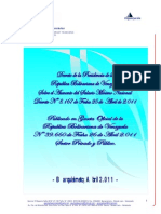 Análisis del Asesor Tributario de la Cámara de Comercio de Lara, Aquiles Figueroa, sobre el decreto 8.167 publicado en Gaceta Oficial Nº39.660