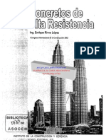 Concretos de Alta Resistencia-ICG