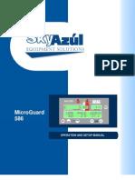 Micro Guard - 586 Operation and Setup Manual - SkyAzul
