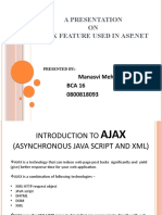 Ajax Feature in ASP