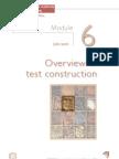 Diagnostic Test Construction