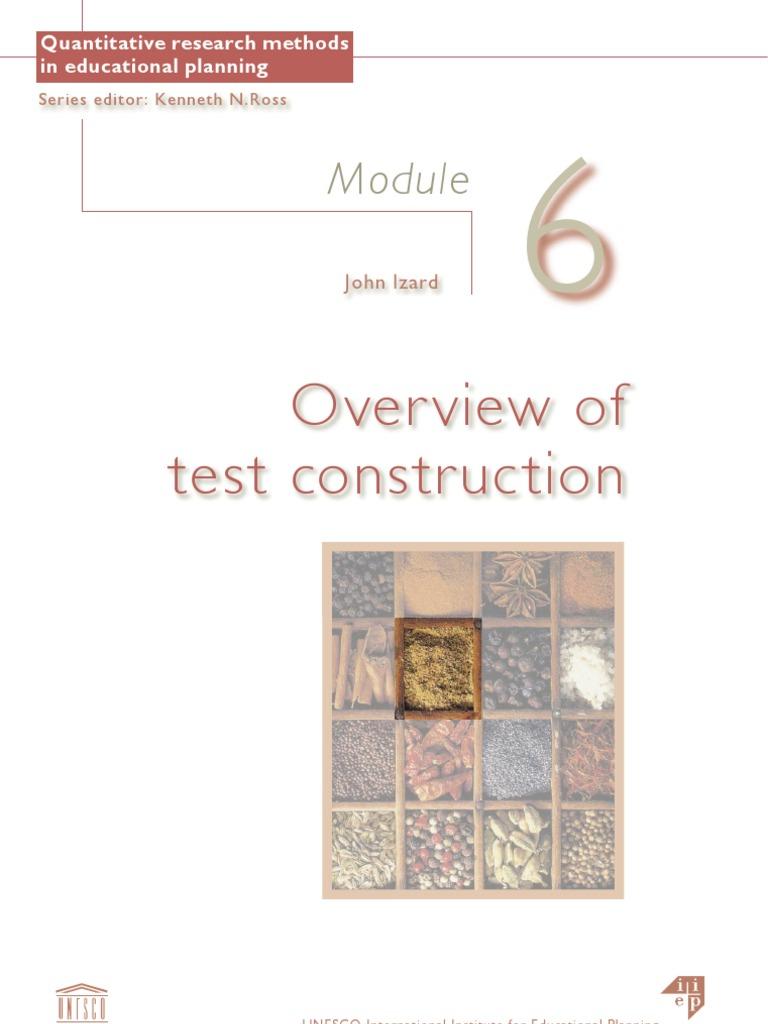 Diagnostic test construction test assessment educational diagnostic test construction test assessment educational assessment malvernweather Choice Image
